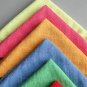 Colorfull microfiber towels