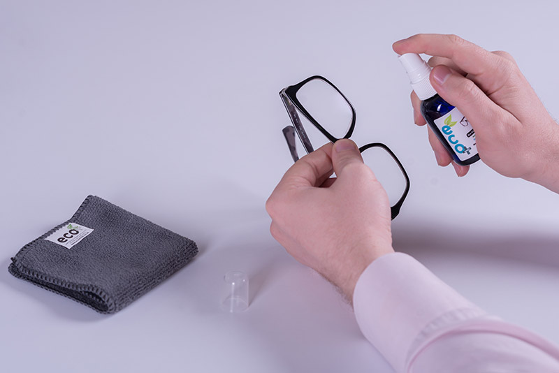 Spray eyeglasses ecomoist Optical Cleaner