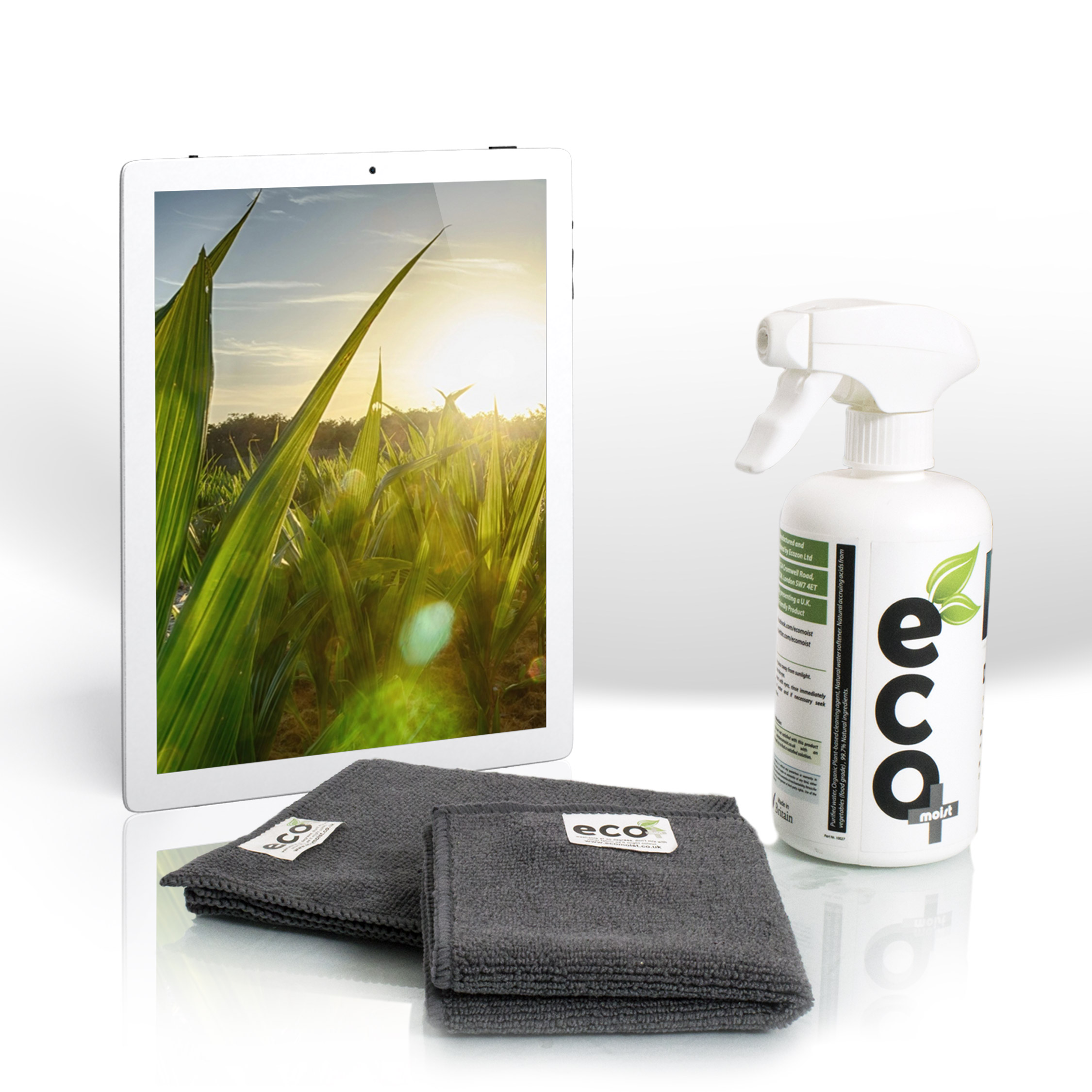 Ecomoist Screen Cleaner 500ml and Tablet